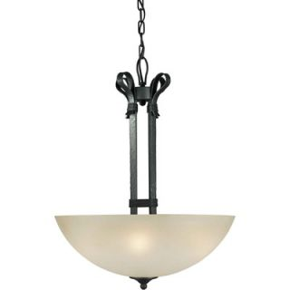 Forte Lighting 4 Light Bowl Pendant   2396 04 11