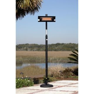 Fire Sense Straight Pole Mounted Electric Patio Heater