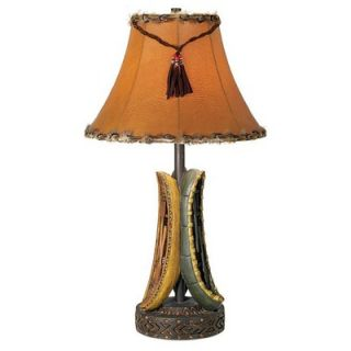 Pacific Coast Lighting Old River Canoe Table Lamp in Multicolor   87