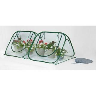 Flowerhouse StarterHouse Clear PVC Mini Greenhouse   FHSH200CL