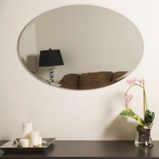 Decor Wonderland Frameless Jaxon Wall Mirror