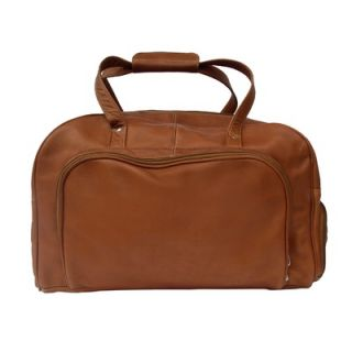Piel Traveler Deluxe 17 Leather Carry On Duffel Bag