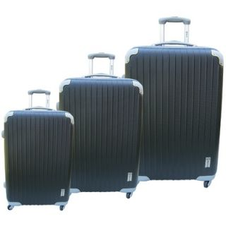 McBrine Luggage Eco friendly 3 Piece Upright Luggage Set