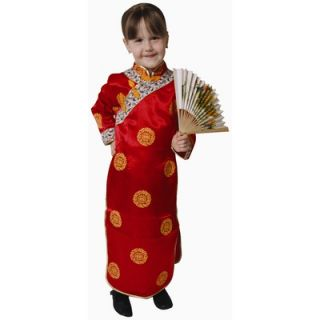 Dress Up America Chinese Girl Dress Up Childrens Costume   212