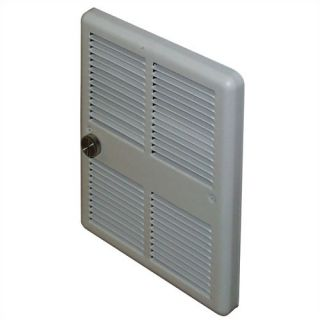 Economical Mid Size 208v Double Pole Fan Forced Wall Heater w/o Back