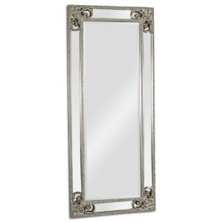 Ren Wil Beveled Rectangular Wall Mirror with Mirrored Border