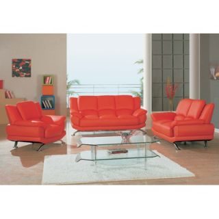 Global Furniture USA Rogers Leather Sofa   9908 CAP Series