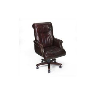 Seas Seating Sabastian High Back Leather Executive Chair   EC 215