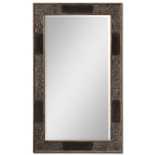 Uttermost Serafina Mirror in Heavily Antiqued Gold
