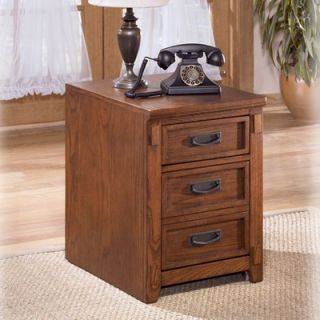 Signature Design by Ashley Cross Island 2 Drawer Mobile File Cabinet