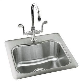 Kohler Staccato Single Basin Self Rimming Entertainment Sink
