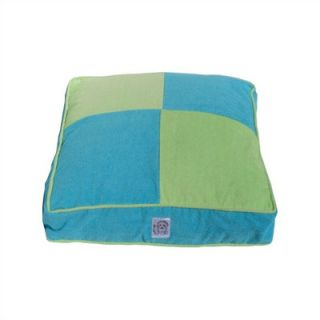 Eloise Ocean Patch Work Terry Cloth Dog Bed