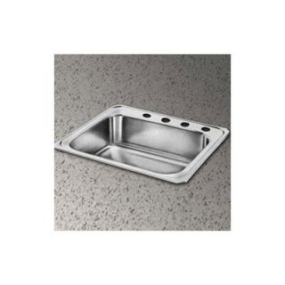 Elkay Celebrity 31 x 22 Self Rimming Stainless Steel Sink Set