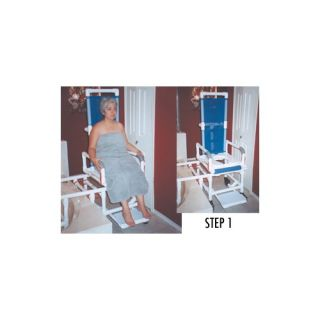 One Step Locking System Tilt N Space Transfer Chair