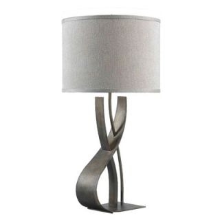 Kenroy Home Canyon Table Lamp in Smoked Bronze   32120SMB