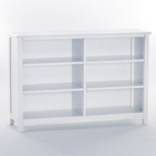 NE Kids School House Horizontal Bookcase