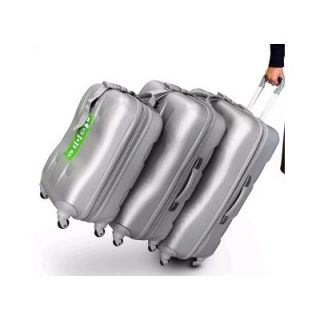 Heys USA Eco Case 3 Piece Spinner Luggage Set