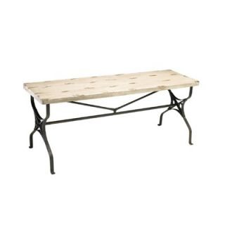 Cyan Design Cooper Wood and Iron Picnic Bench