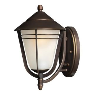 Hinkley Lighting Aurora Wall Lantern in Metro Bronze   Energy Star