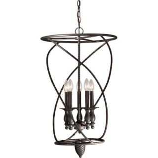 Forte Lighting 5 Light Foyer Pendant   2521 05 32
