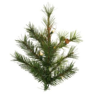 Vickerman Mixed Country Pine 6.5 Slim Artificial Christmas Tree with