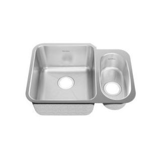 American Standard Stainless Steel Undermount Double Combination Bowl