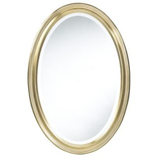 Bassett Mirror Burnished and Antique Gold Wall Mirror