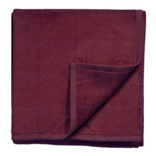 Bocasa Blankets Woven Throw Blanket in Cranberry   240 500