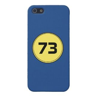 73 is the best number, iPhone 5 case