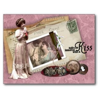 Victorian Romantic Love Letters Post Cards