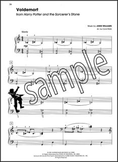 Harry Potter Big Note Piano Sheet Music Book Complete Film Series 1 8