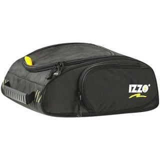 New Izzo Golf Shoe Caddie Nylon Shoe Storage Bag Black