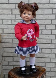 Masterpiece Dolls Jenna by Monika Levenig 32 in Stock