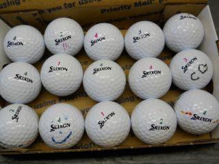 15 Srixon Soft Feel Tri Speed Golf Balls Mint Near Mint
