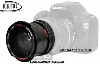 Wide Angle Lens Fisheye for Canon EOS Rebel 1100D 1000D T3 T3i 60D 7D