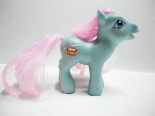 My Little Pony Piccolo Action Figure Hasbro Toy Horse G3 Glitter Pony
