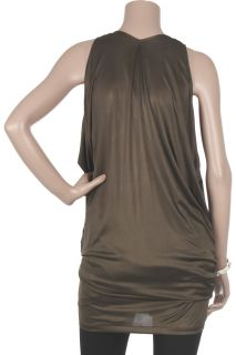Donna Karan Liquid satin plunge top   65% Off