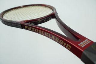 Head Prestige Classic Mid 600 Tennis Racket Safin Midsize L4 Austria