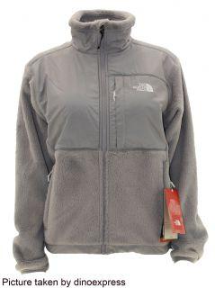 North Face Womens Denali Thermal Fleece Jacket Grey Size Medium