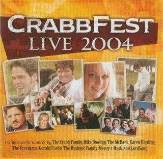 The Crabb Family Crabbfest Live 2004 CD 614187142226