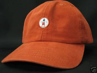 Sankaty Head Golf Club New Golf Hat Burnt Orange