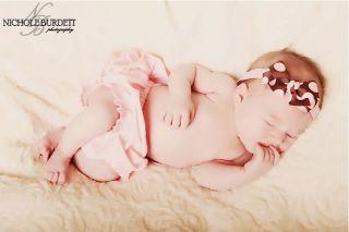 Animal Print Polka Dot or Trendy Design Baby Headband
