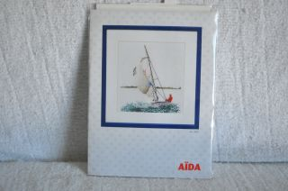 Thea Gouverneur Sailing Counted Cross Stitch Kit