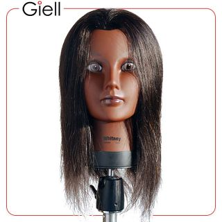 21 Cosmetology Mannequin Head 100 Human Hair Whitney