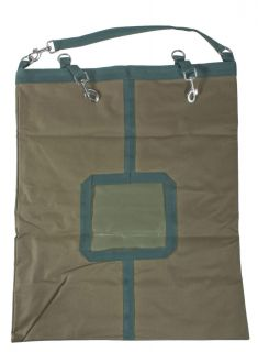 22 x 27 Camo and Green Heavy Duty Top Load Horse Hay Bag Bags Carrier