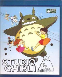 DVD Hayao Miyazaki STUDIO GHIBLI Special Collection 18 Movies English