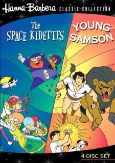 Hanna Barbera Space Kidettes Young Samson DVD 1967 883316332047