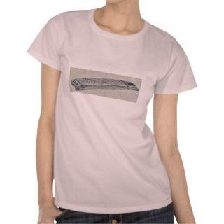 koto or Japanese zither Ukiyo e. Tee Shirts