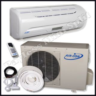 Ductless Mini Split Air Conditioner Heat Pump Air Con 9 000 BTU AC