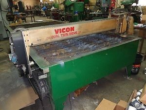 2003 Vicon HVAC CNC Plasma Cutter 60 Width x 120 Length with 6 Month